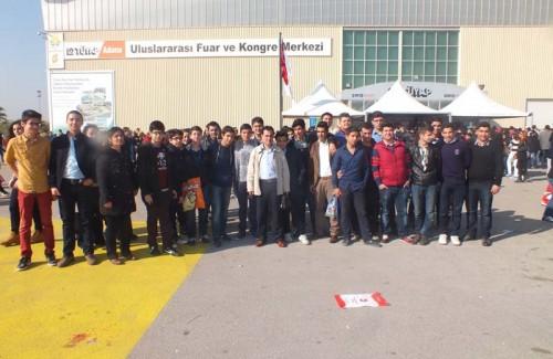 Adana Tüyap Fuarını Ziyaret